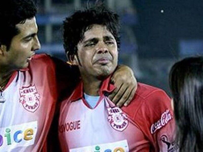 Sreesanth crying