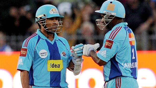 Sachin Tendulkar Sanath Jayasuriya IPL 2011