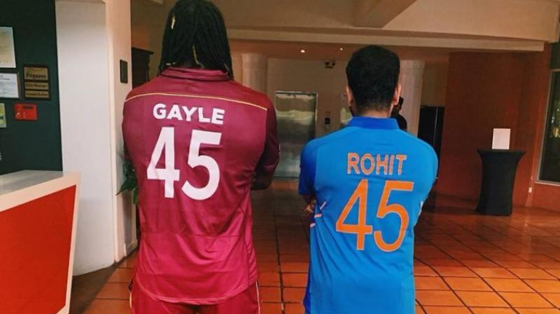 gayle and rohit