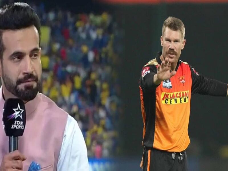 Irfan pathan-david warner