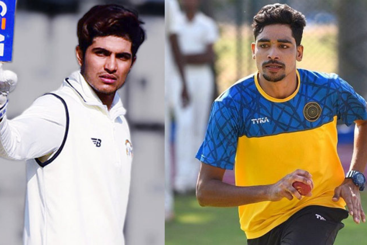 Shubman Gill and Mohammad Siraj Test Debut