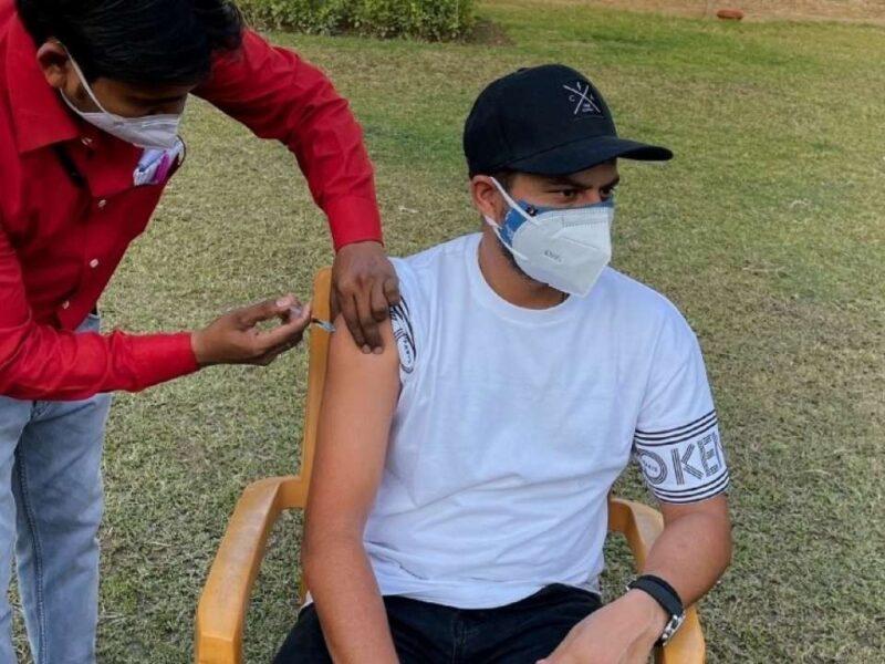 kuldeep yadav-vaccine