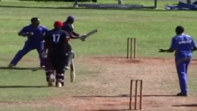 cricket फील्ड फाइट