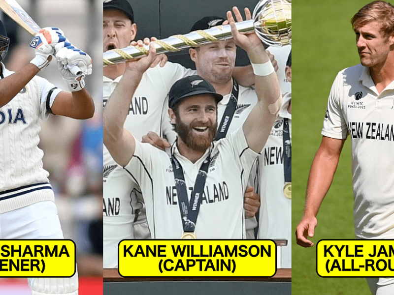 ICC World Test Championship Best Combined XI Of The Final