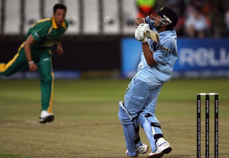 Rohit scored a match defining 50 in India s 37 run win against South Africa in the Super 8 fixture of the ICC WT20 2007