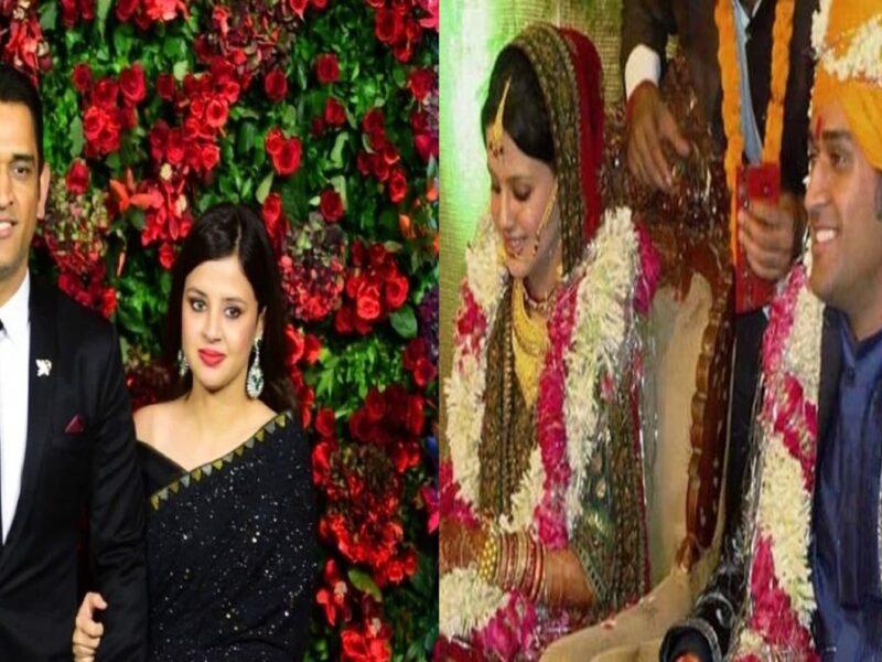 MS dhoni Sakshi anniversary