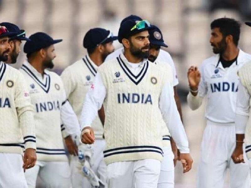 Team india-test series