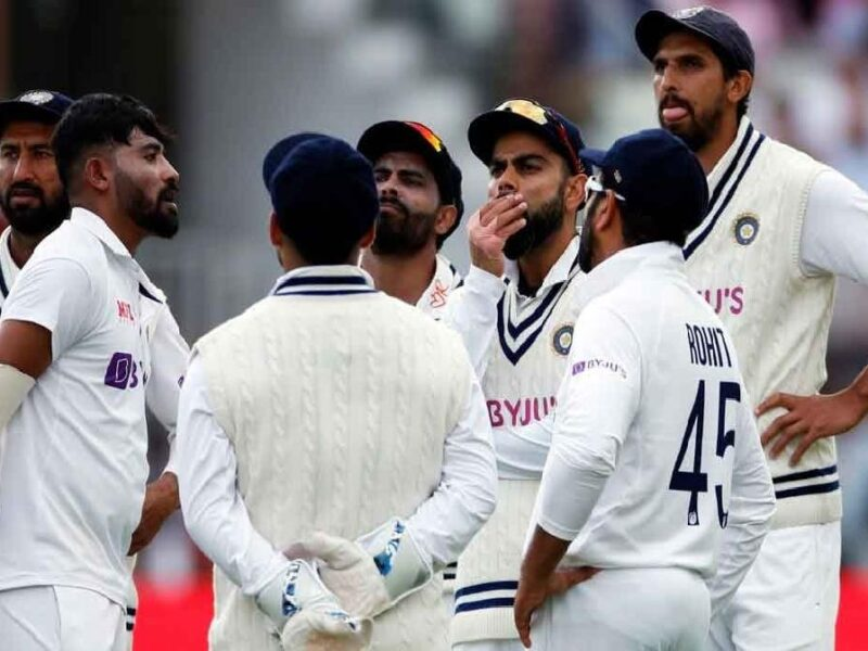 Oval-team india