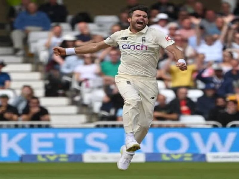james anderson Test