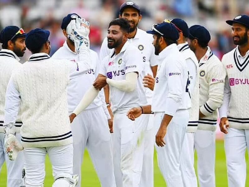 team India-lords test