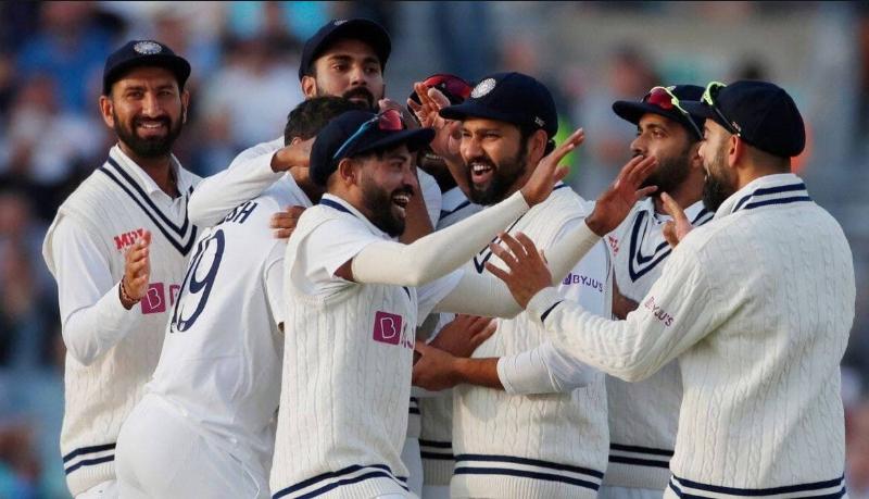 Team India-oval
