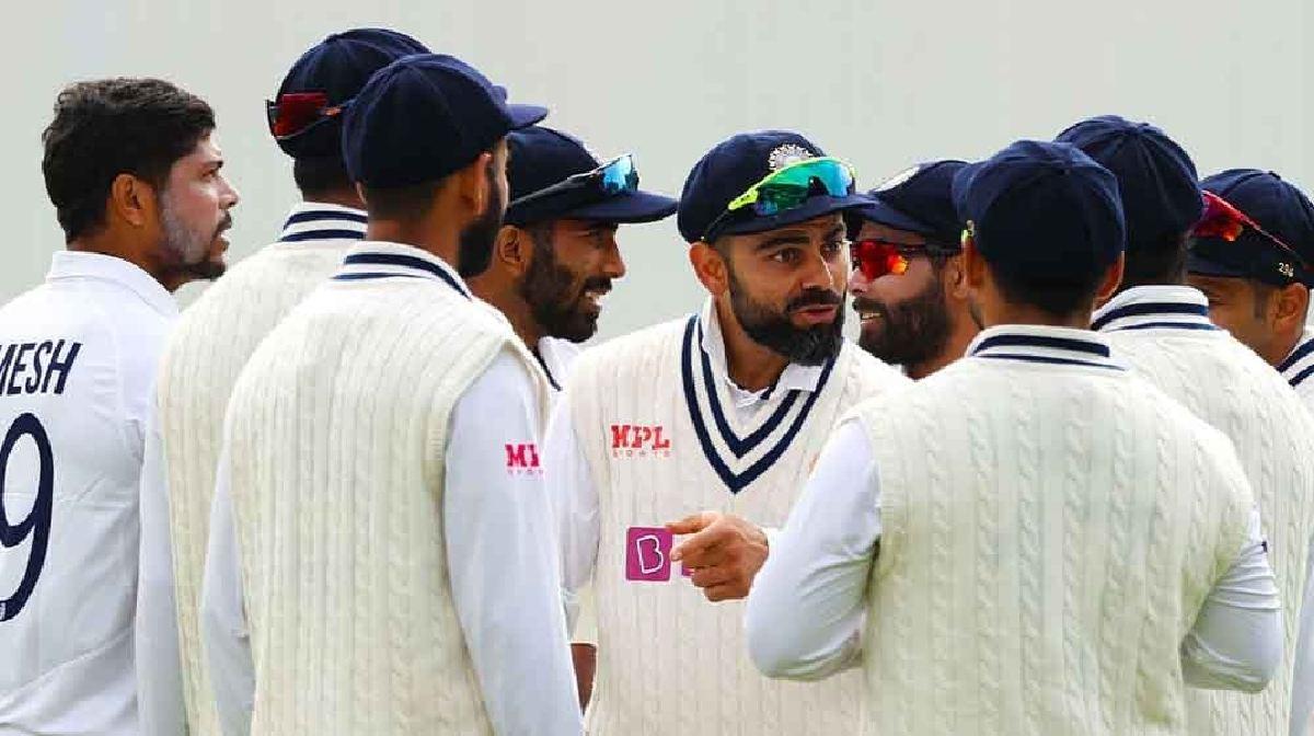 India Team-England