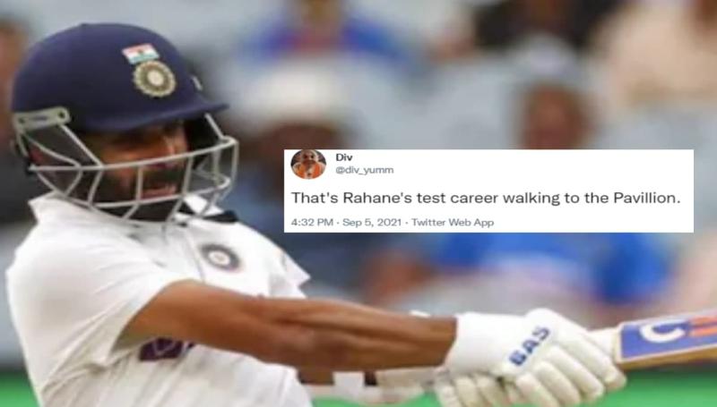 Ajinkya Rahane-wicket