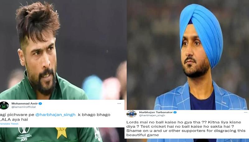 Harbhajan Singh Mohammad Amir's Ugly Spat On Twitter