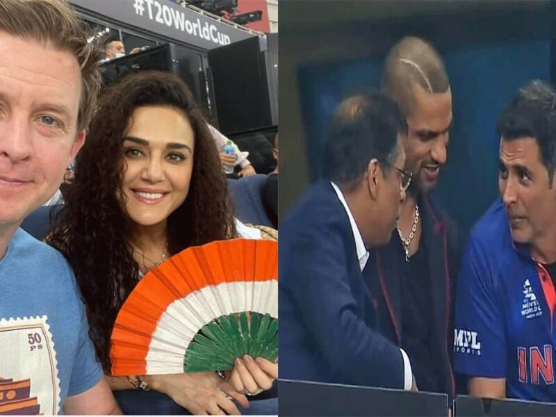 Bollywood Stars In IND vs PAK match-T20 WC 2021