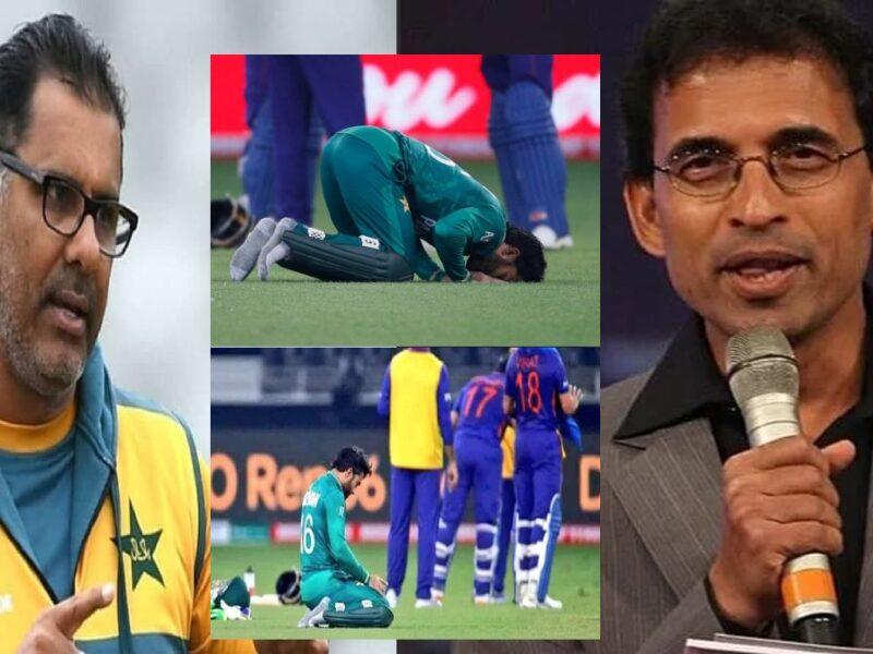 Harsha Bhogle on Waqar Younis-Mohammad Rizwan namaz-IND vs PAK