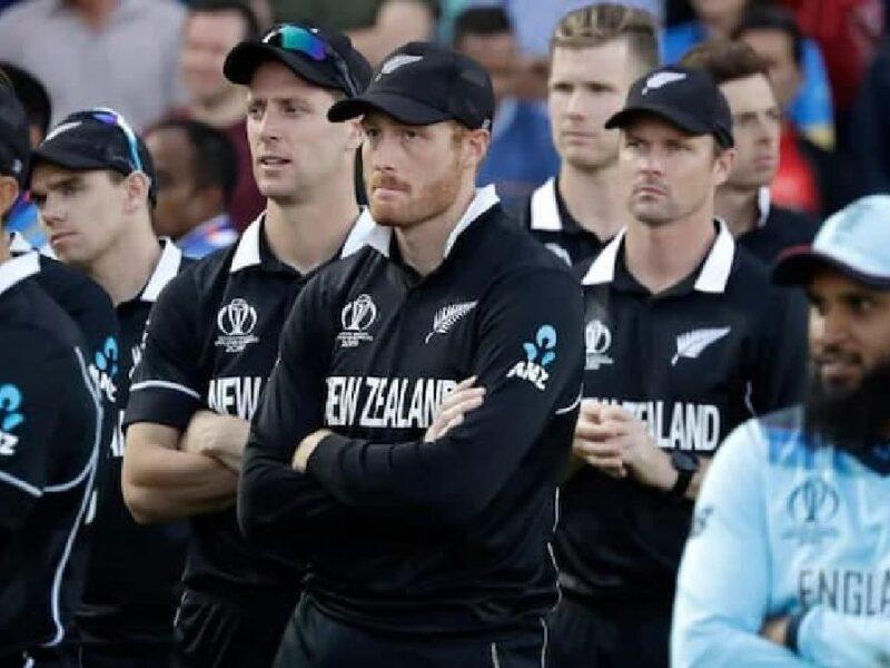 New Zealand-Martin Guptill Injured-Gary Steed