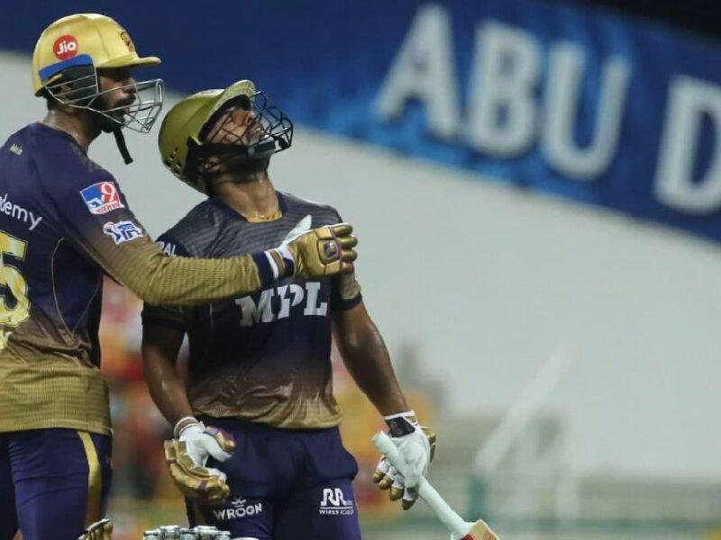Rahul Tripathi Injured-CSK vs KKR IPL 2021 Final
