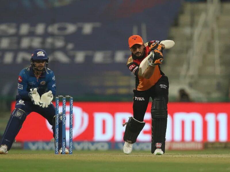 SRH vs MI-IPL 2021