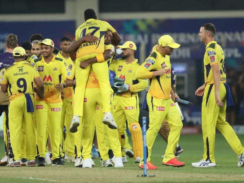 CSK vs KKR- MS Dhoni Cricketers are congratulating